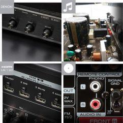 Composants de qualité pour le Denon DRA-800H